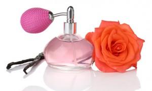 Parfüm mit Rose mit sinnlichem Duft